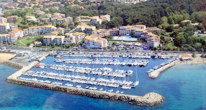 Rivages Coudouliere - Avenue du Lac T2 vue mer et piscine sans TV SIX FOURS LES PLAGES