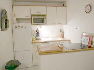 coin cuisine avec lave vaisselle et lave linge