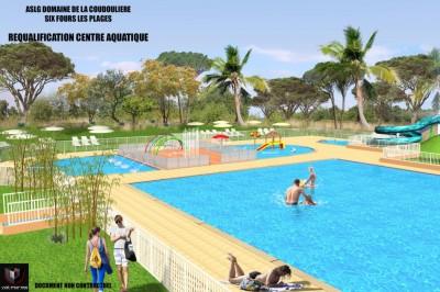 Location Agréable T2 de 31 m2 petite vue mer piscine et tennis à participation T2 SIX FOURS LES PLAGES Domaine De La Coudoulière 4 COUCHAGES